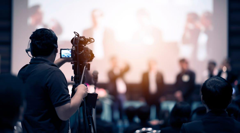 videotechnik corporate event